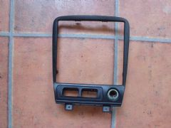 MAZDA MX5 EUNOS (MK2 / 2.5 1998 - 2005 ) CENTER DASH / CONSOLE TRIM (BLACK)
